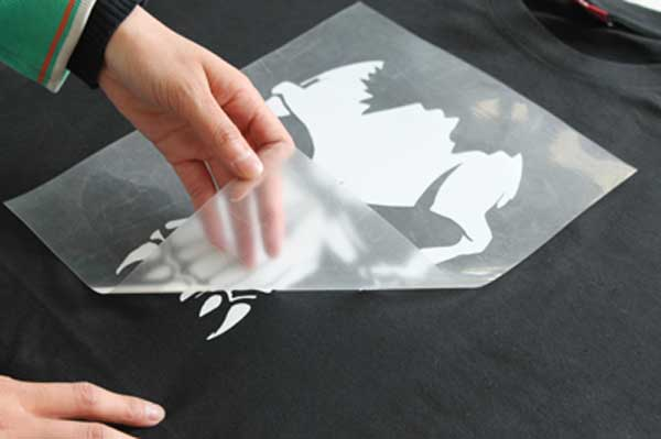 heat press transfer paper Wax free transfer paper (also known as graphite paper or tracing paper) made for general and specialized use that allows you to transfer your design from a sketch.